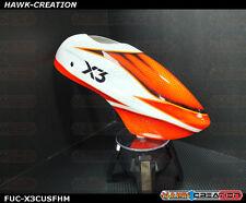 Fusuno Airbrush Fiberglass Canopy Gaui X3 with Fisherman design30
