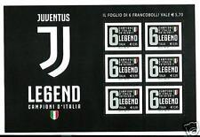 Italia Repubblica 2017 : Foglietto Juventus Legend - nuovo e perfetto