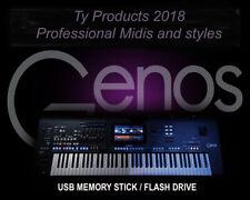 Yamaha  GENOS USB Pendrive . Professional styles and Midis
