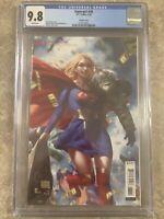 Supergirl #38 CGC 9.8 Derrick Chew Cover DC