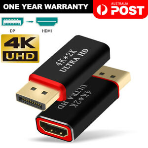 Display Port to HDMI Male Female Adapter Converter DisplayPort DP to HDMI