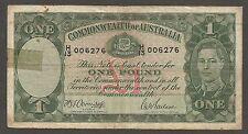 Australia 1 Pound N.D. (1942); F; P-26b; King George VI; Armitage - McFarlane