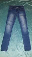 CHEAP MONDAY Lady's Skinny Jeans Size: W 25 L 32 in VERY GOOD Condition