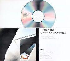 NZCA/LINES Okinawa Channels 2012 UK 4-track promo test CD