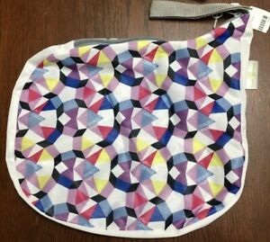 New Bumgenius Alicia Kaleidoscope Geometric Print Diaper Wetbag Outing Wet Bag