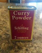 Vintage A.Schilling & Company San Francisco Curry Spice Can