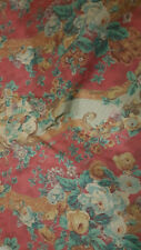 SHERIDAN  Fabric - Unused in new condition -   RETRO VINTAGE FABRIC Rare Design