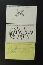 Lot: 31 Hartford Whatlers Autographed 1990s Nhl Hockey Index Cards~
