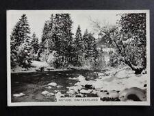No.28 GSTAAD SWITZERLAND RP Winter Scenes - Pattreiouex 1937