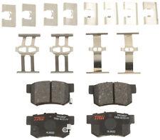 TRW Automotive TPC0537 Rear Premium Ceramic Brake Pads