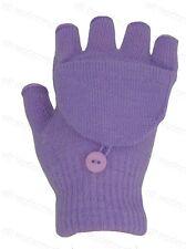Girls Childrens Kids Fingerless Combo Converter Mittens Gloves All Colours Bnwt