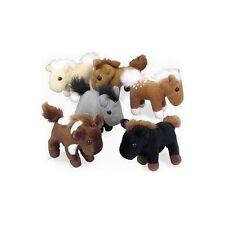 Horse Party Favors Plush Mini Birthday Decor Kids Prize Fun Farm Pony 1 Dozen