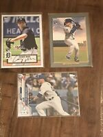 2020-2021 Topps 3 Card ROOKIE Lot Gavin Lux Casey Mize Los Angeles Dodgers DET
