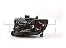 TYC NSF Left Side Halogen Headlight Assy For Honda Ridgeline 2006-2008 Models
