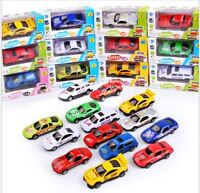 Metal Die Cast Kids Cars Gift Set Xmas F1 Racing Vehicle Children Play Toy
