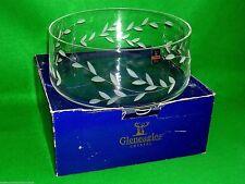 Gleneagles Cristal Frutero mano corte Grande Etiqueta Hoja Aria? Escocia Perfecto