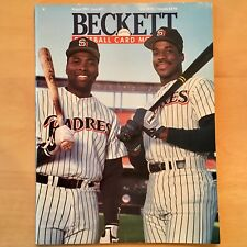 Beckett Baseball Card Monthly #77 August 1991 Gwynn McGriff Padres Dawson Cubs