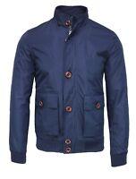 Giubbino giacca casual uomo blu scuro man's Jacket giubbotto trench da S a XXL