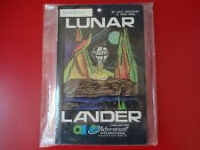 Lunar Lander by Adventure International For Atari 400/800 24K Cassette. Rare!