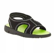 Wonder Nation Toddler  Boys Sling Back & Lime  Sandal Shoe Beach   Size 5