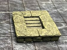 Dwarven Forge Master Maze Painted Resin Down Stairs Tiles  D&D