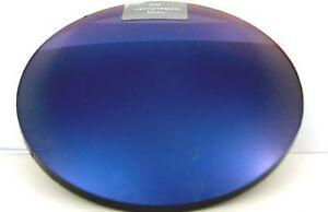 2 blau verspiegelte Sonnenbrillengläser Einstärken Index 1,5 incl. HRSET