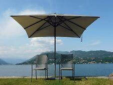Maffei ombrellone telescopico Kronos Art.139Q ecru poliestere 300x300cm