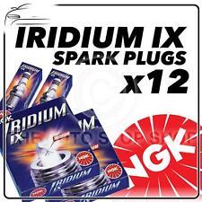 12x ngk spark plugs partie numéro cr7eix stock n ° 7385 iridium ix Neuf Authentique