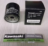 Kawasaki Genuine Oil Filter ZX6R/ZX10R & Various Bikes Part number 16097-0008.