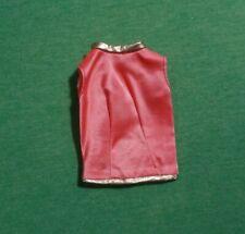 Vintage Barbie Clothes - MOD Era Barbie 1493 Fab Fur Satiny Blouse