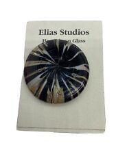 Elias Studios Handblown Glass BROOCH / PIN