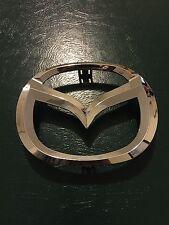 02-06 Mazda 6 & Mazda 3 04-06 Front Grille Emblem Badge New OEM