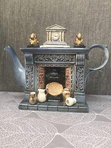 Paul Cardew Large Teapot Classical Fireplace