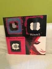Mylène Farmer -RemixeS (double 33trs) Comme Neuf