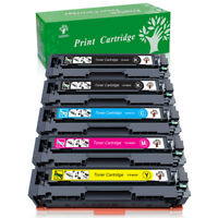 5PK High Yield CF400X 201X combo Toner Set For HP Color Laser Jet Pro MFP M277dw