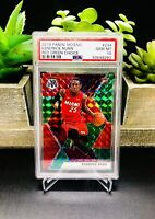 2019-20 Panini Mosaic KENDRICK NUNN Red Green Choice SSP PSA 10 RC Rookie #234