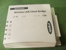 Spectrum 24 Wireless LAN Client Bridge CB 1000-0000-US