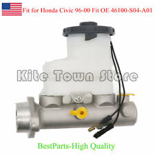 New Brake Master Cylinder for Honda Civic 96-00 Fit OE 46100-S04-A01