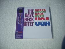 THE DAVE BRUBECK QUARTET / BOSSA NOVA USA - JAPAN CD MINI LP