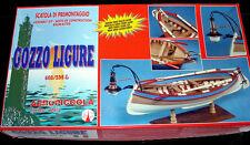 Aeropiccola GOZZO LIGURE wood model  KIT RARE NEW  Ligurian fishing boat ship