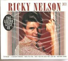 RICKY NELSON THE LEGEND LIVES ON 3 CD BOXSET