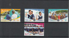 Barbados 2010 MNH CENT GIRL Guida 4V Set SCOUT Brownies Guides CAMPEGGIO
