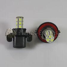 2 x Bombillas 18 LED SMD H13 9008 antiniebla, DRL, Luz Dia... Coche Blanco Xenon