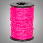 """Flo Pink BCY Halo .014"""" Braided Spectra Serving Material Spool Bow String"""