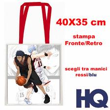 Kuroko no Basket aomine kise akashi kagami Anime Borsa Shopper Bag 40X35 CM