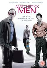Matchstick Men (DVD, 2004) Nicolas Cage, Sam Rockwell - Brand New Sealed