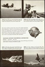 1957 Vintage ad for Grumman Aircraft Engineering Corp`Airplane pictures (051414)