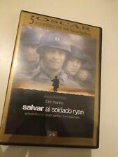 Dvd SALVAR AL SOLDADO RYAN con tom hank  / 2 dvd  de spielberg (5 oscars )