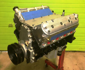 REBUILT 6.0 LS Long Block Gen 4 Engine STOCK Cam 799 Heads Flat Top Pistons