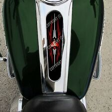 Custom Gas Tank Dash Console Insert for 08-15 Harley Streetglide - PIN UP GIRL